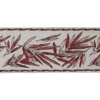 Бордюр для штор TY1909-7 бордовый 9 см/25 м