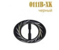 Пряжка 0111B-XK черный (25 шт)