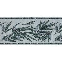 Бордюр для штор TY1909-5 морская волна 9 см/25 м