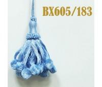 Кисти BX605/183 голубой (10 шт)
