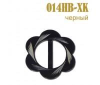 Пряжка 014HB-XK черный (25 шт)