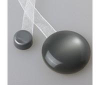 """Магнит для штор """"нефрит"""" с лентой №69 Серый"""