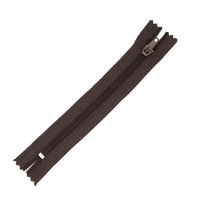 Молния брючная 304 Б коричневый Т4/16 полуавтомат