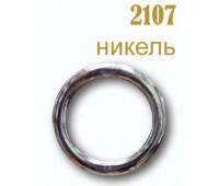 Кольцо плоское 2107 темный никель 30/40 мм