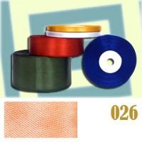 026 Тесьма-вешалка светло-оранжевый (уп. 10 рул. по 33 м)