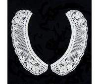 Воротник 12549 белый (уп. 5 пар)