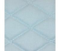 Термостежка из поликоттона 602218 голубая (5,2см х 7,5см) 220см /~30м