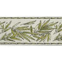 Бордюр для штор TY1909-6 оливковый 9 см/25 м