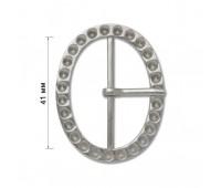 Пряжка (с язычком) 10700-UG никель