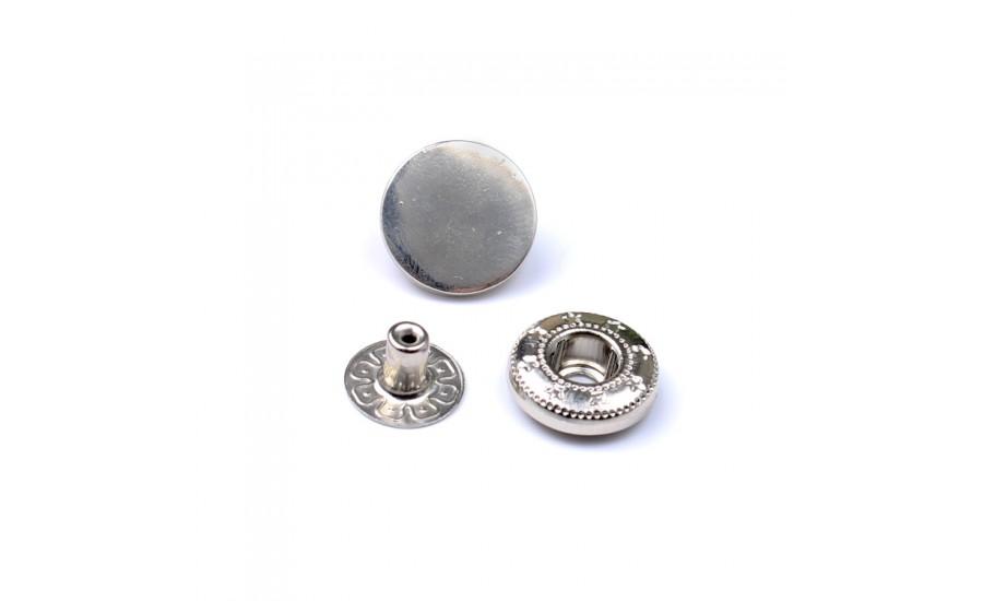 Кнопки Y370 никель 15 мм (500 шт)