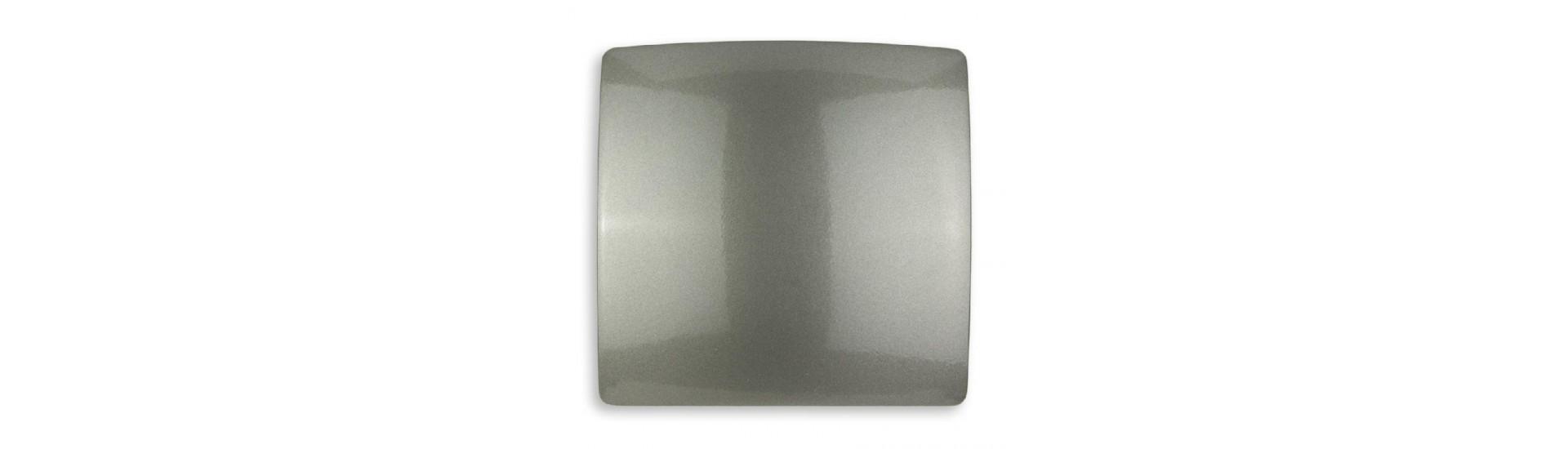 Магнит для штор на тросе 970-934 Винил бежевый 14,5 см Квадрат