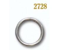 Кольцо круглое 2728 никель 50/60 мм