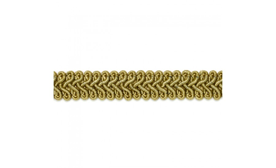 Сутаж отделочный SR010 темное золото (50 м)
