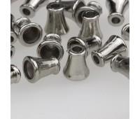 Концевик пластиковый 3306 никель (100 шт)