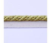 Кант шторный (искусственный шелк) SHK20-12 золото (25 м)