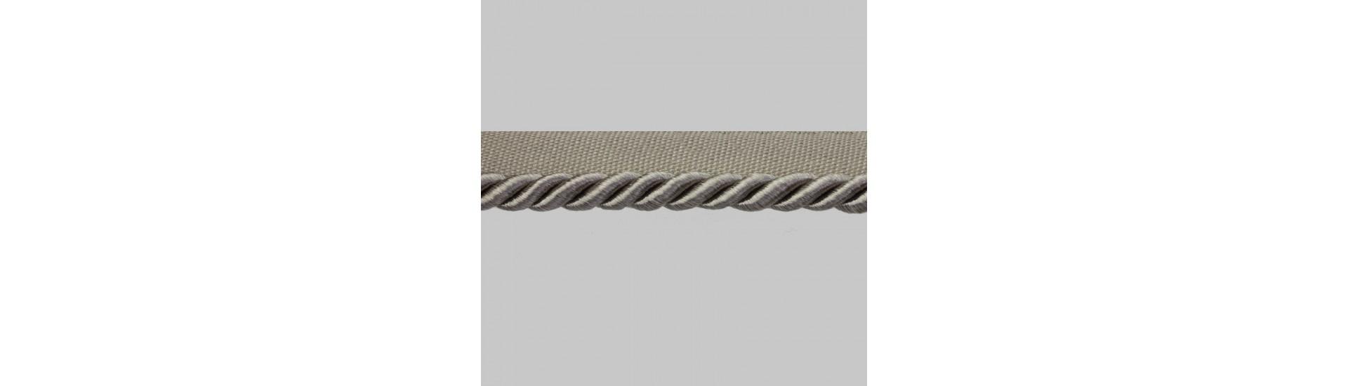 Кант шторный SM-D7-002 (SMD7002)-4166 серый (25 м)