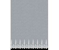 Батист ткань для штор 24006 BRODE FANTAZI BEYAZ высота 295 см (~20 м) Т6