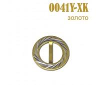 Пряжка 0041Y-XK золото (25 шт)