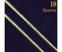 """18 бронза Шнур к/з """"Рептилия"""" прош. 0,3 см (31 м)"""