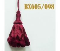 Кисти BX605/098 бордо (10 шт)