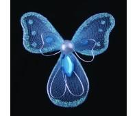 Украшение для штор Бантик голубой HJH84215-2 (уп. 6 шт)