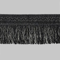 Бахрома C099-4 черный (25,6 м)