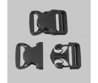 Фастекс закрытый НФ-40 (40 мм) черный (50 шт)
