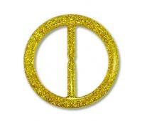 Пряжка из смолы 244G-1 золото (20 шт)