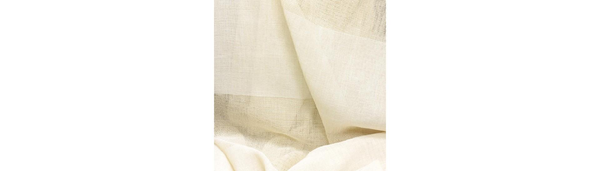 Ткань для штор имитация льна 5752/H008 SETKA TUL высота 312 см (~40 м)