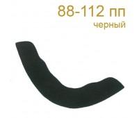 Подокатники 88-112 пп черные (100 пар)