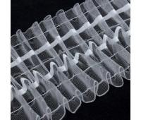 Шторная лента 1005-О органза 10 см (50 м)