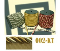 Кант шторный 002-КТ бежевый/коричневый (100 м)