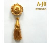Брошь для штор золото A-J0 (10 шт)