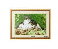 """Набор для изготовления картины - мозаика """"Волки"""", 3163, 64х46 см"""