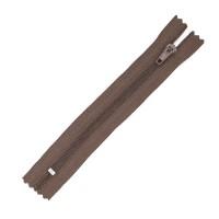 Молния брючная 301 Б коричневая Т4/16 полуавтомат