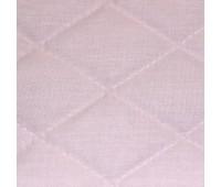 Термостежка из поликоттона 602226 розовая (5,2см х 7,5см) 220см /~30м