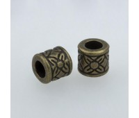 Концевик металлический 1670 бронза (100 шт)