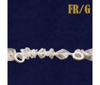 Шторная лента на ткани 1,5 см FR/G (200 м)