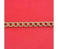 Цепь из алюминия NK120 (7x11,3) русское золото (91,44 м)