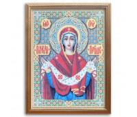 """Набор для изготовления картины - мозаика """"Богородица Покрова"""", 2120, 30х40 см"""