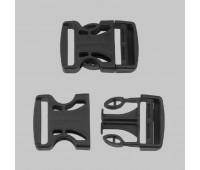 Фастекс скелет Ф-40/3 (40 мм) черный (50 шт)