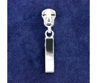 Бегунки автомат для молний металл 3200 никель Т5 (50 шт)