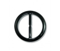 Пряжка из смолы 244B-3 черный (20 шт)
