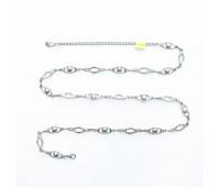 Ремень металлический 731 никель (10 шт)