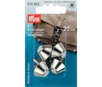Ножки (гвоздики) 615903 Prym для дна сумки 20 мм серебристые 4 шт