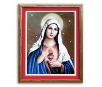 """Набор для изготовления картины - мозаика """"Святая дева Мария"""", 2015, 50х65 см"""