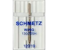 Игла с лопастью для мережки №120 Schmetz 130/705H-WING (1 шт)