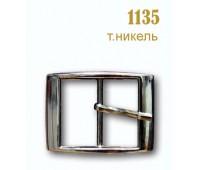 Пряжка (с язычком) 1135 темный никель
