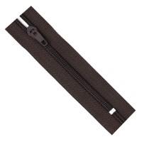 Молния брючная 304 темно-коричневая Т4/18 полуавтомат