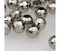 Концевик пластик 3319 (8245) серебро (100 шт)